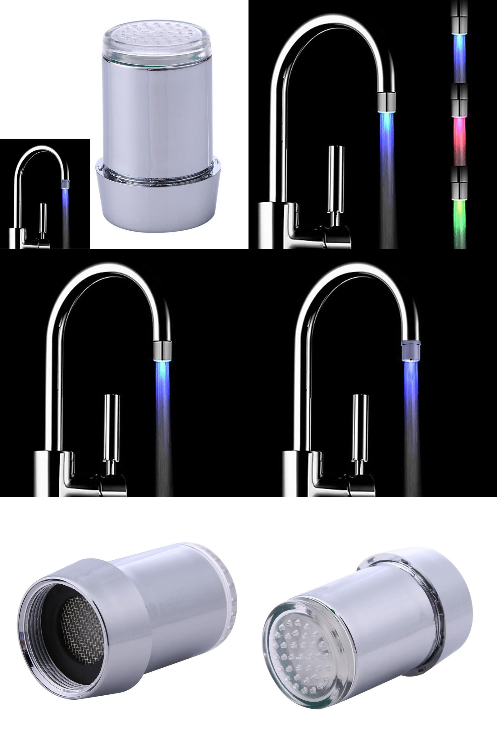 Visit to Buy] Fashion LED Water Stream Mini Faucet Lighting Tap ...