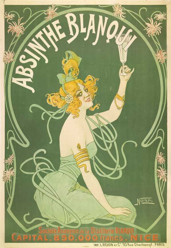 VINTAGE PRINT ART POSTER ABSINTHE A1 SIZE PRINT FOR YOUR FRAME painting