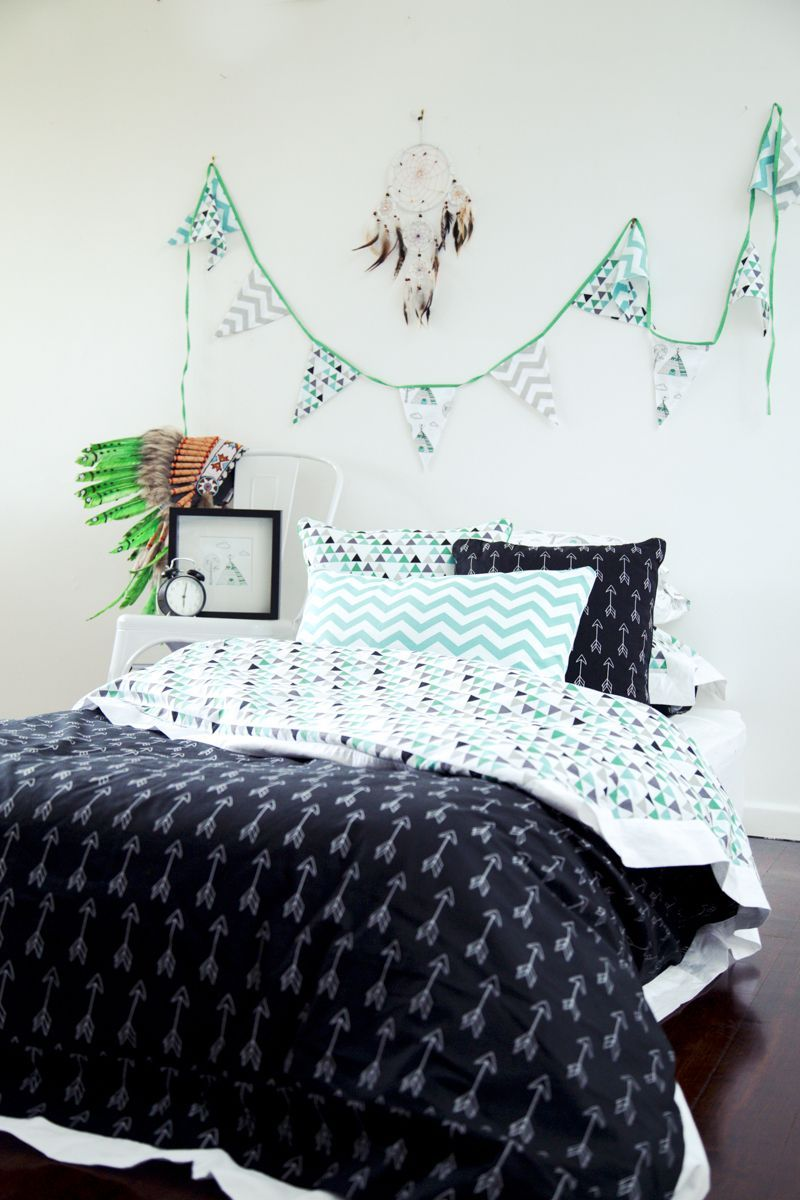 Alphabet Monkey Bed Sheets