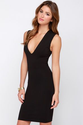 3c83f3acdce7 Exclusive Love the Limelight Black Bodycon Dress | LOVE IT, NEED IT ...