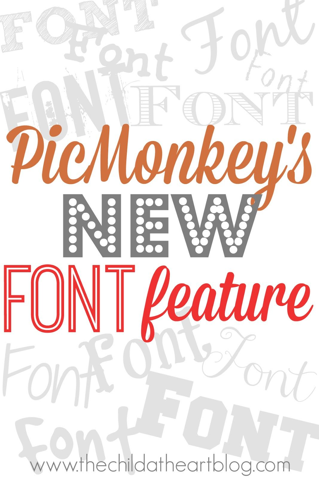 how to use your own fonts on picmonkey