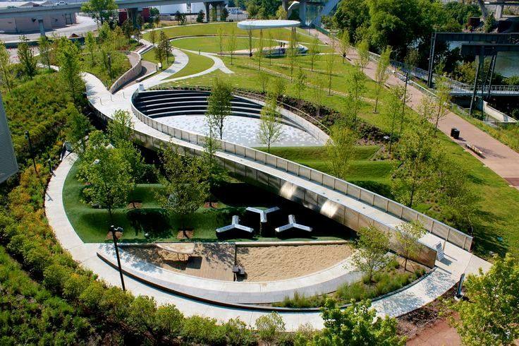 Downtown nashville willsak arq wilber landscape for Garden design nashville tn
