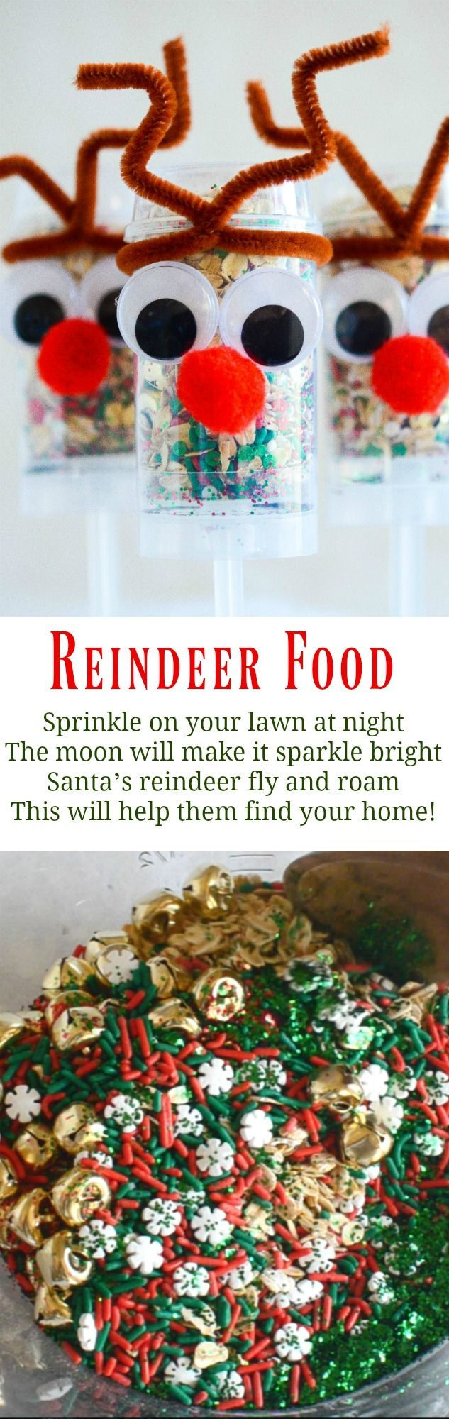 Reindeer food in push up pops spread this reindeer food around reindeer food in push up pops spread this reindeer food around your lawn on christmas forumfinder Gallery