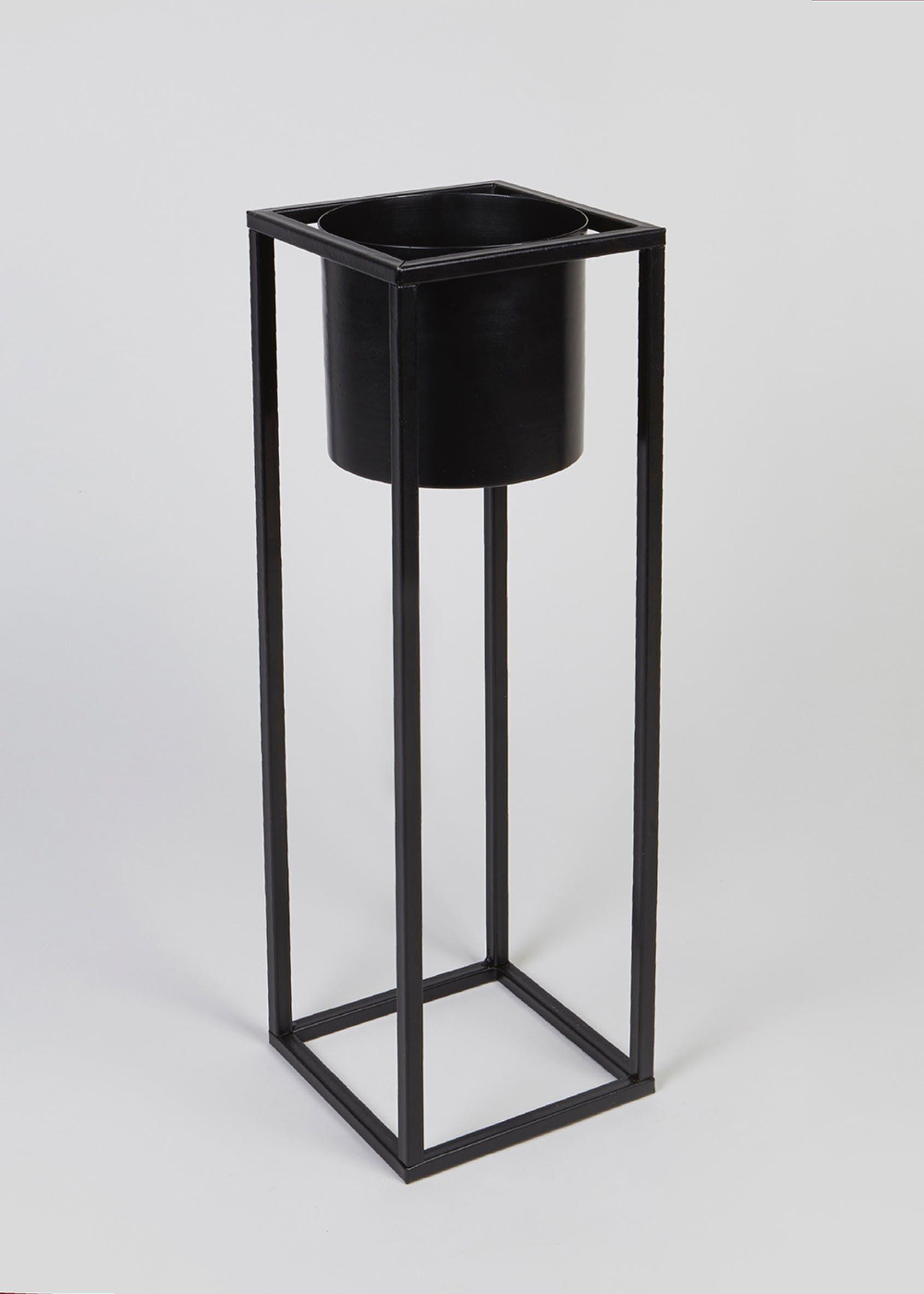 Tall Metal Planter 70cm X 15cm