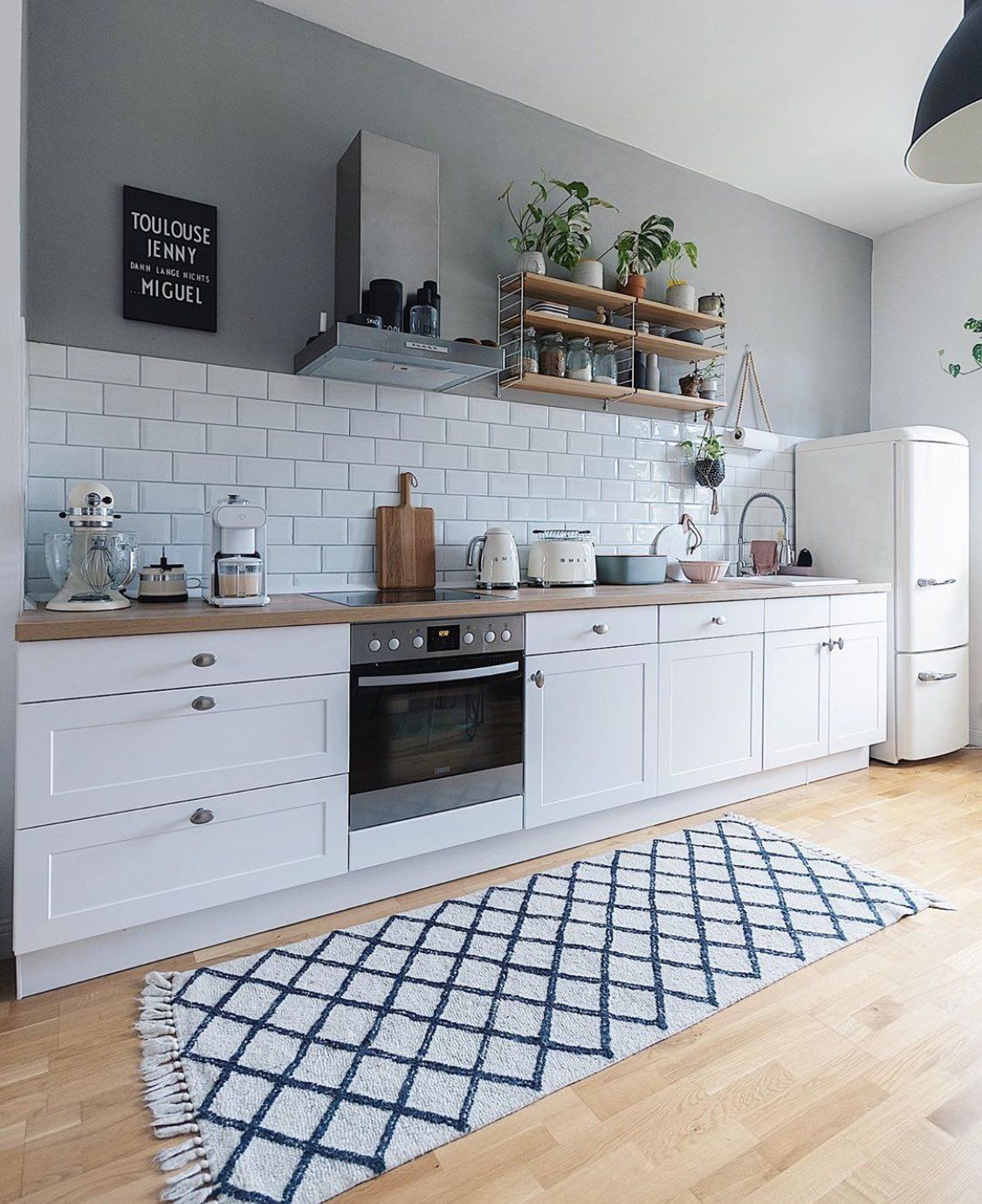 Interior Idea on Twitter in 9   Scandinavian kitchen design ...