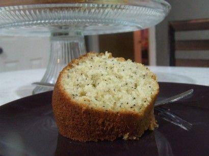 Poppyseed cake made w/Betty Crocker gf cake mix