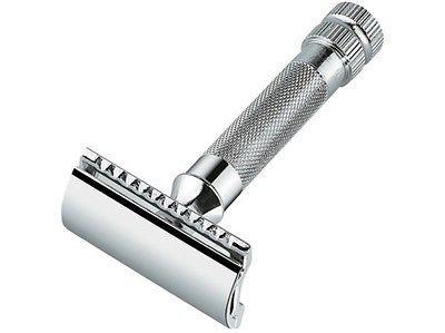 Merkur 34c Hd Chrome Double Edge Shaving Safety Razor Germany Royal Shave Usa Best Safety Razor Safety Razor