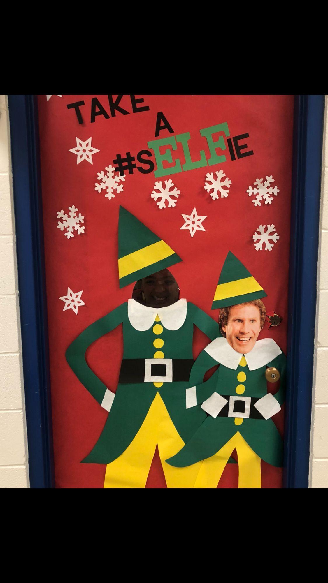 #christmasdoordecorationsforschool