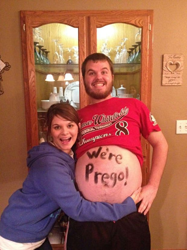 Were Pregnant 42 Funny Baby Announcements Youll Love – Witty Baby Announcements
