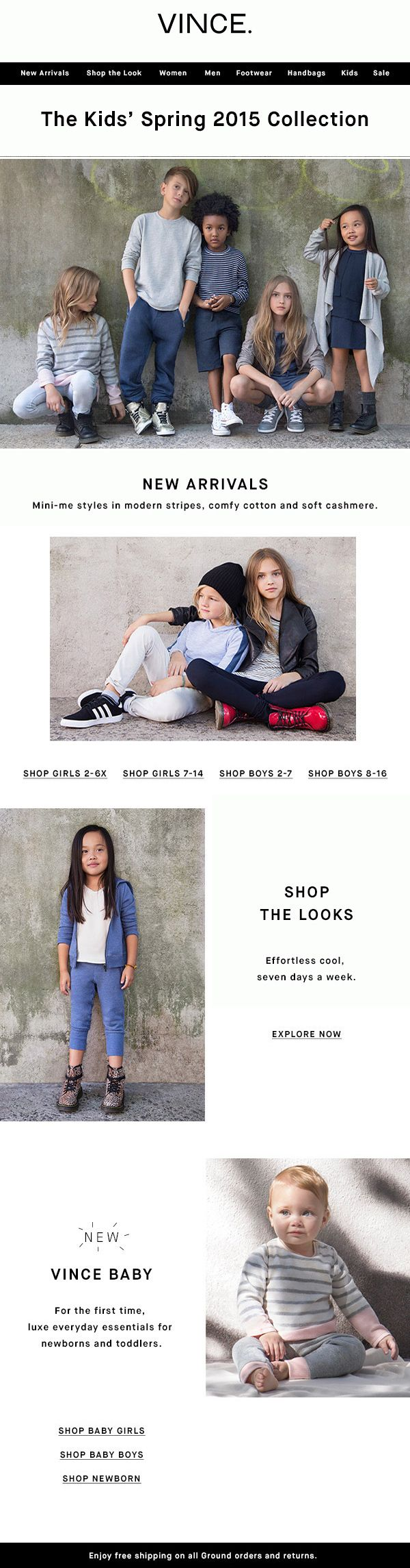 Vince: Introducing The Kids' Spring Collection