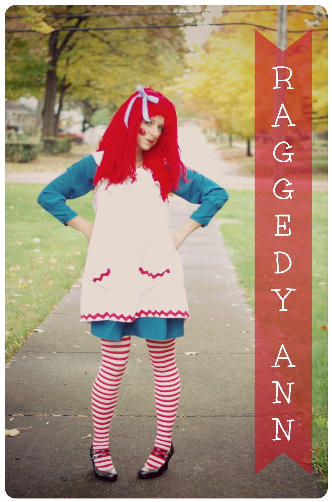 Raggedy Ann Costume & Raggedy Ann Costume | animal crossing clothes | Pinterest | Raggedy ...