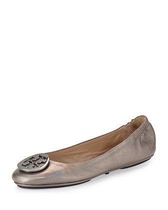 63ee4700a07 Minnie Travel Ballet Flat Gunmetal | Clothes | Flats, Ballet flats ...