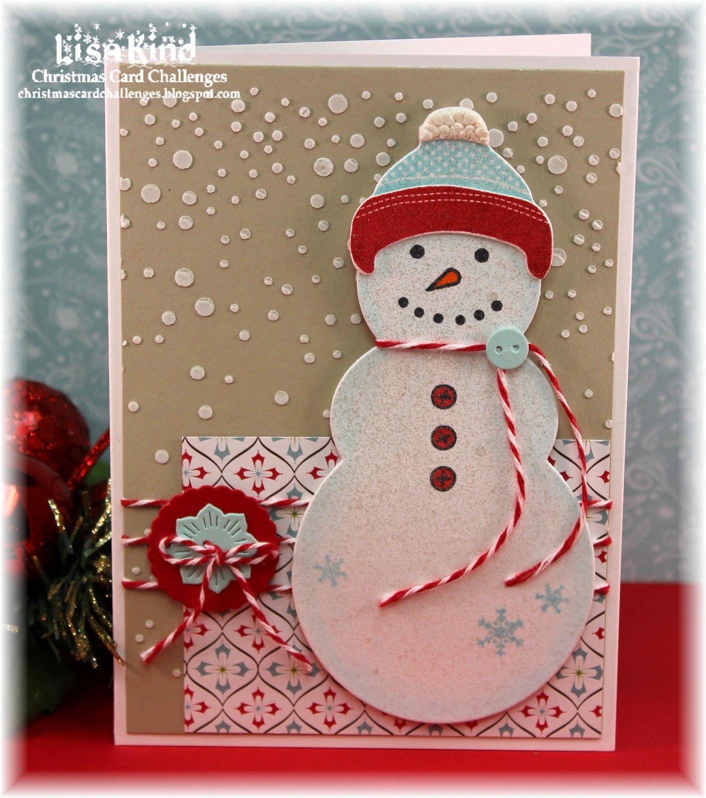 Christmas Card Challenge #51 - Color Challenge   Подарки ...
