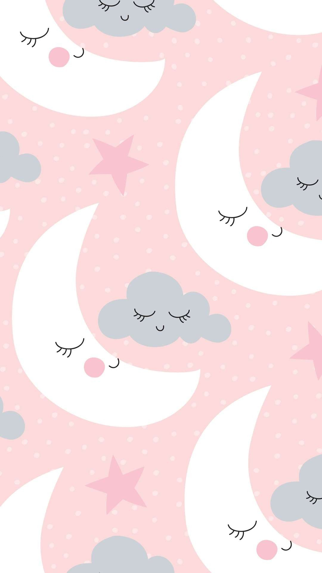A Lua E A Nuvem Papeis De Parede Wallpaper Imagem De Fundo Para Iphone