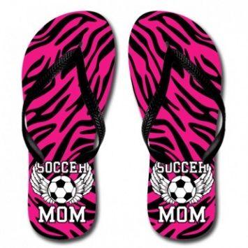 097830c91c6660 Katydid Soccer Mom Women s Flip Flop Designed by Katydid flip flops are  unisex sizing. please