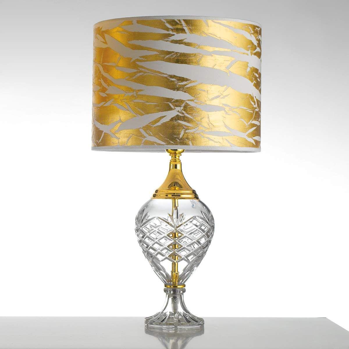 Tischleuchte Belle Epoque 59 Cm Gold Tischleuchte Lampen Und