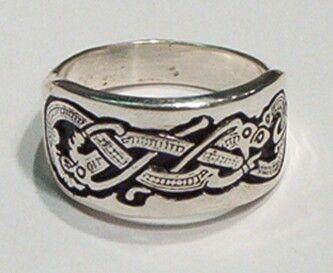 Viking Dragon Ring viking rings Jewelry Pinterest Viking