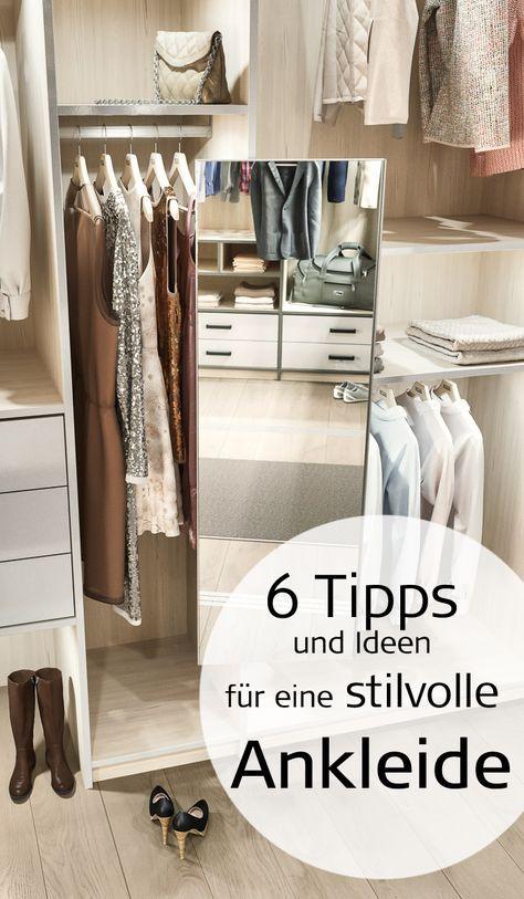 6 Tipps Und Ideen Fur Eine Stilvolle Ankleide Ankleide Kleiderschrank Nach Mass Begehbarer Kleiderschrank
