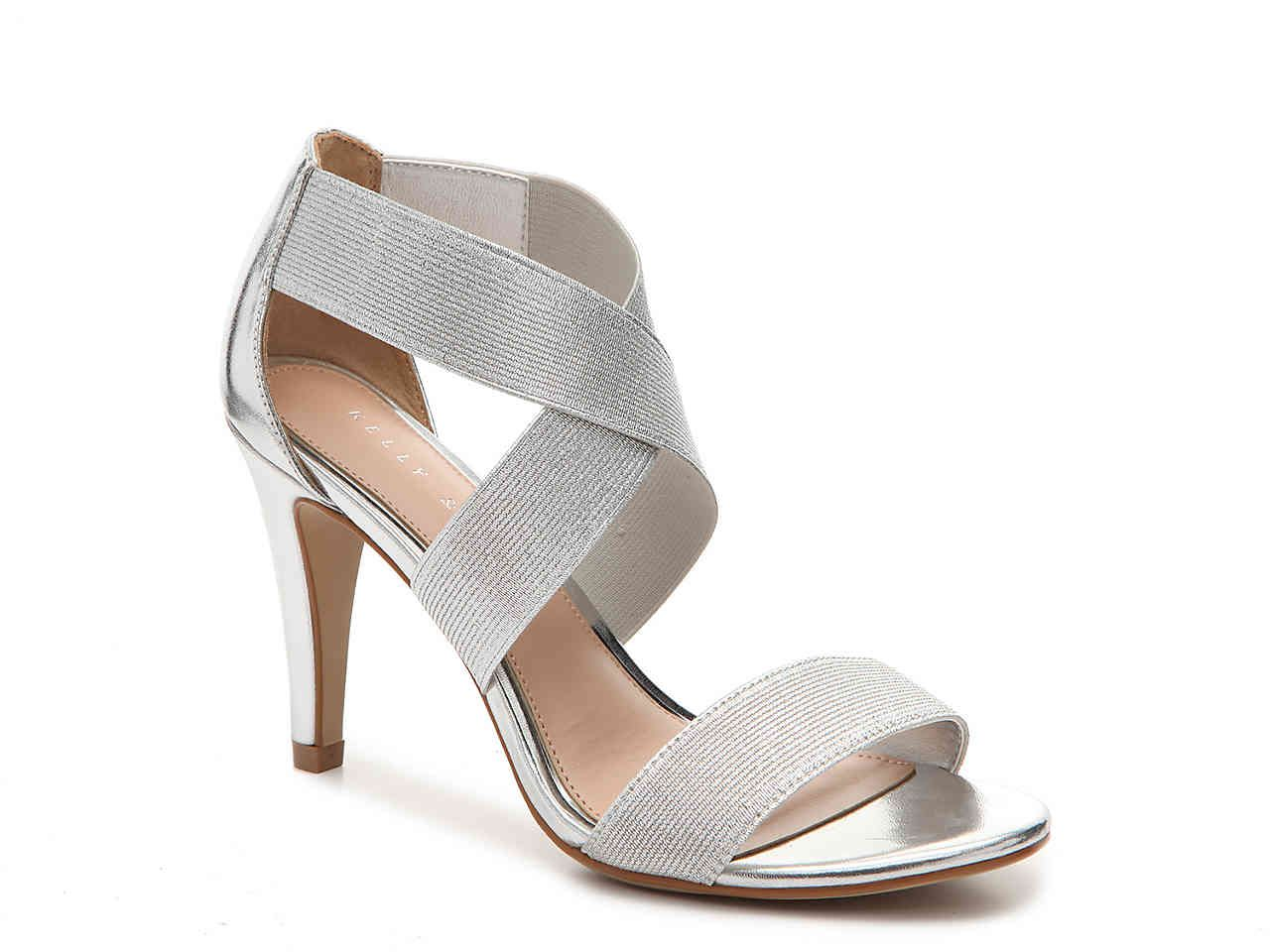 e35170c9a9f  DSW Kelly   Katie - Larinia Sandal. Find this Pin and more on Wedding  Shoes by Katie Koster. Tags. Silver Mid Heels
