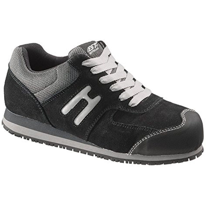 Womens athletic oxford steel toe electrical hazard slip