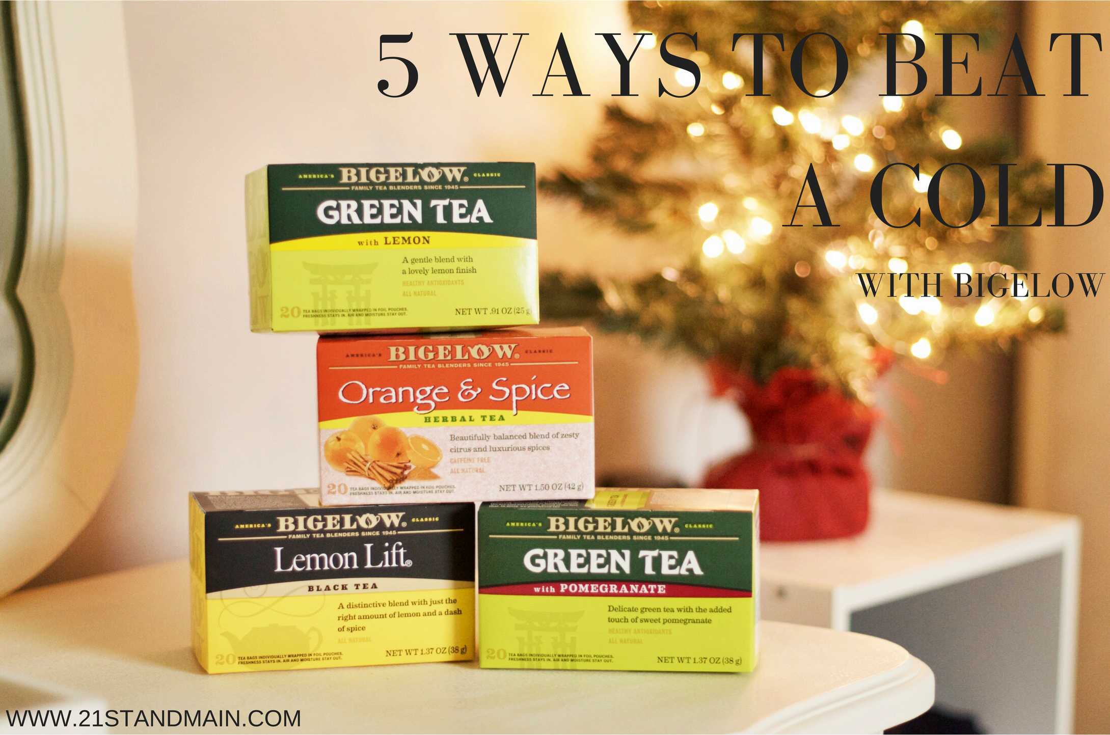 ways to beat a cold #TeaProudly #ad