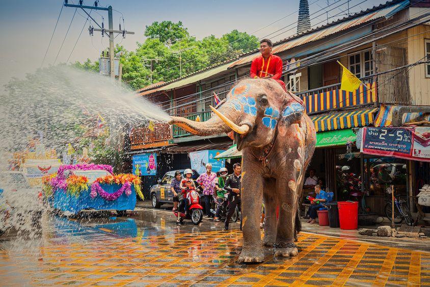 Songkran 2020 in Thailand ในปี 2020 (มีรูปภาพ)