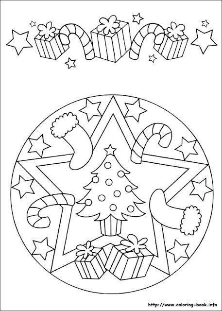 Disegni Di Natale Da Colorare Per Adulti.Mandala Pagine Da Colorare Per Bambini Pagine Da Colorare Per Adulti Colori Di Natale
