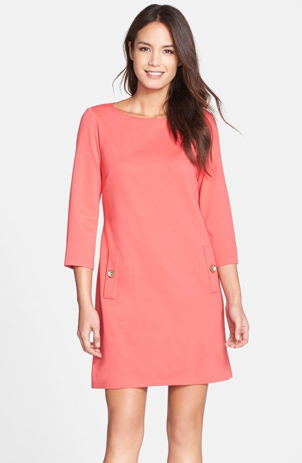 Ponte A-Line Dress / @nordstrom - love the style of this dress - do ...