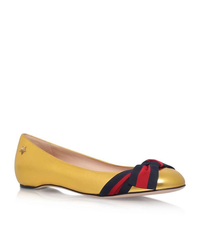 bf17bfecb61 GUCCI Aline Bow Ballerina Flats.  gucci  shoes
