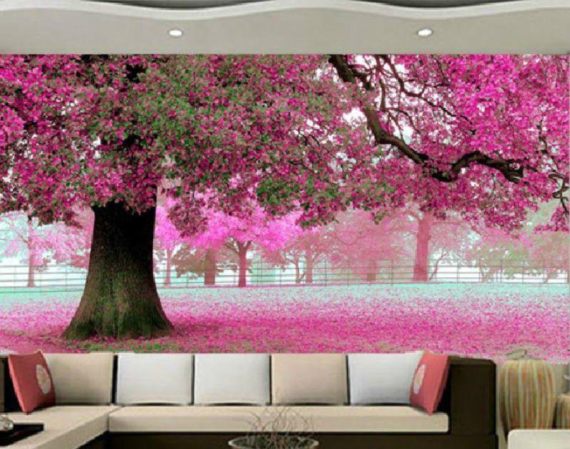 Terbaru 30 Gambar Bunga Sakura Sederhana Lukisan Bunga