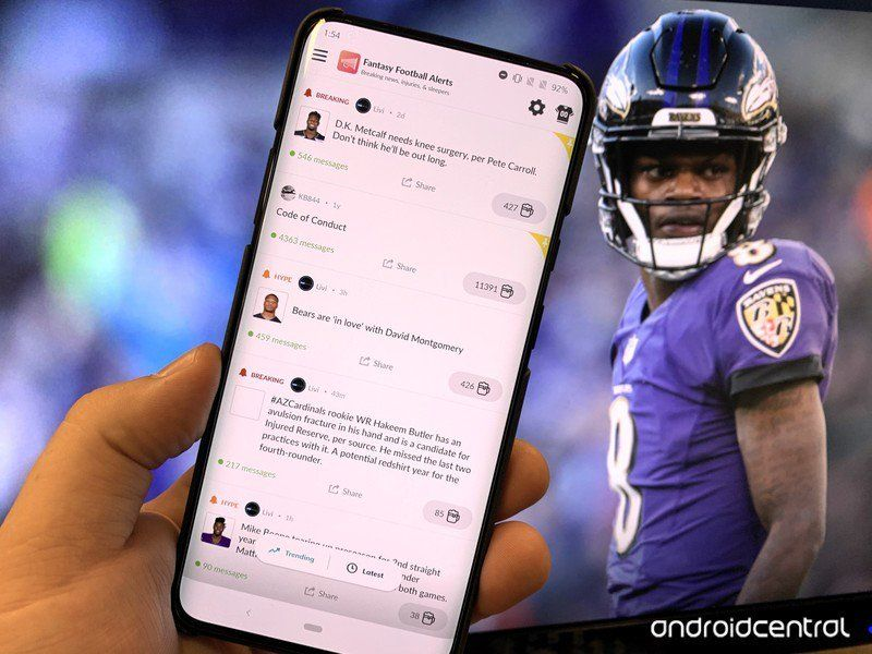 Get ready for Game Day with the best fantasy football apps