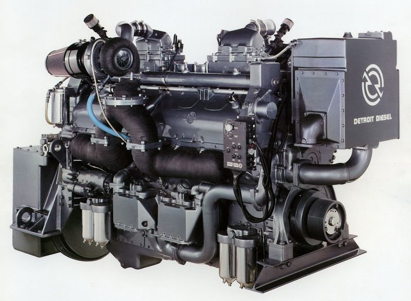 Detroit Diesel Series 149 | Diesel engines | Detroit diesel