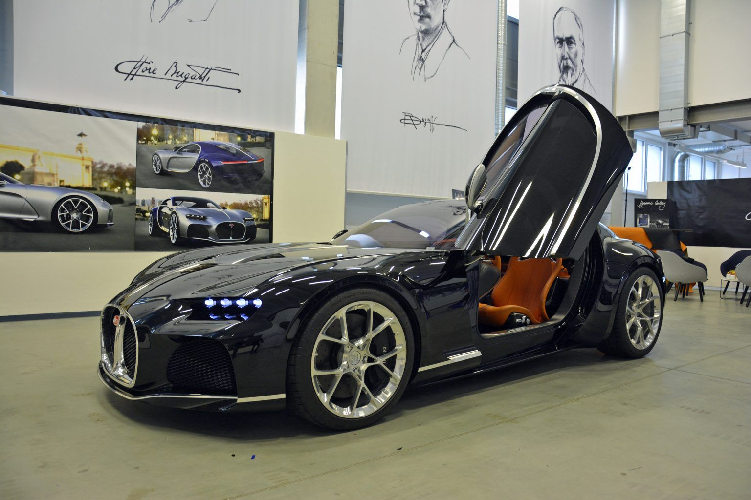 Incredible Never-Seen-Before Bugatti Creations Uncovered