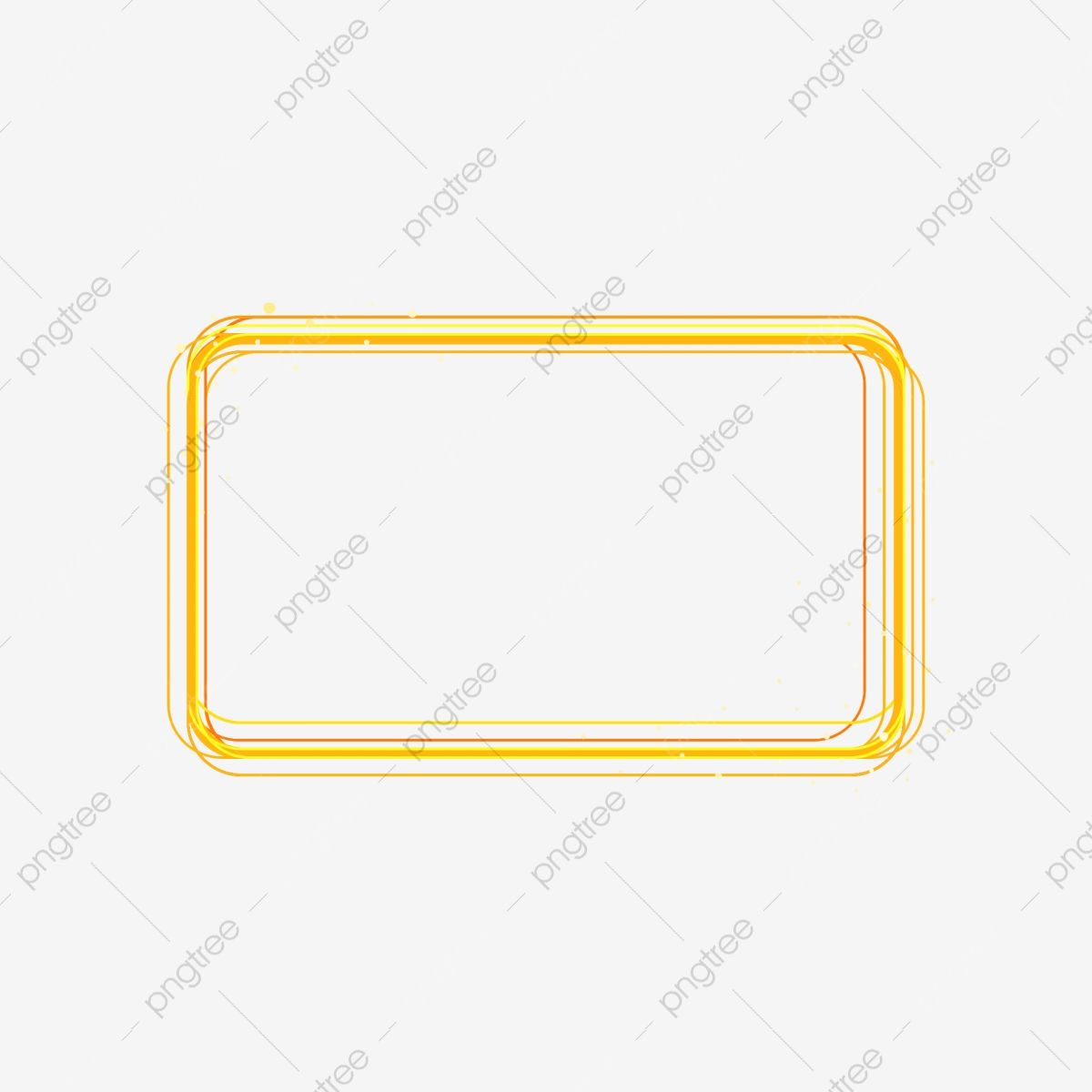 Yellow Video Frame Rectangle Clipart Yellow Rectangle Png Transparent Clipart Image And Psd File For Free Download Clip Art Clipart Images Comic Frame