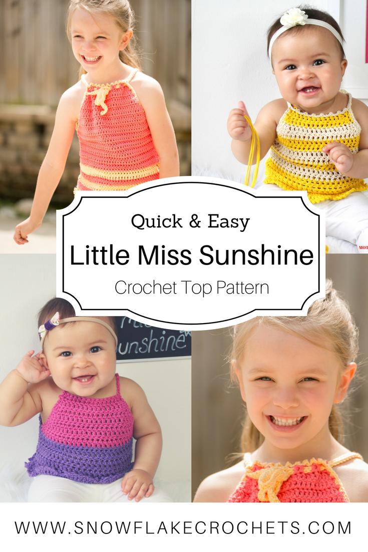 Crochet Pattern / Little Miss Sunshine | Blogger Crochet Patterns We ...