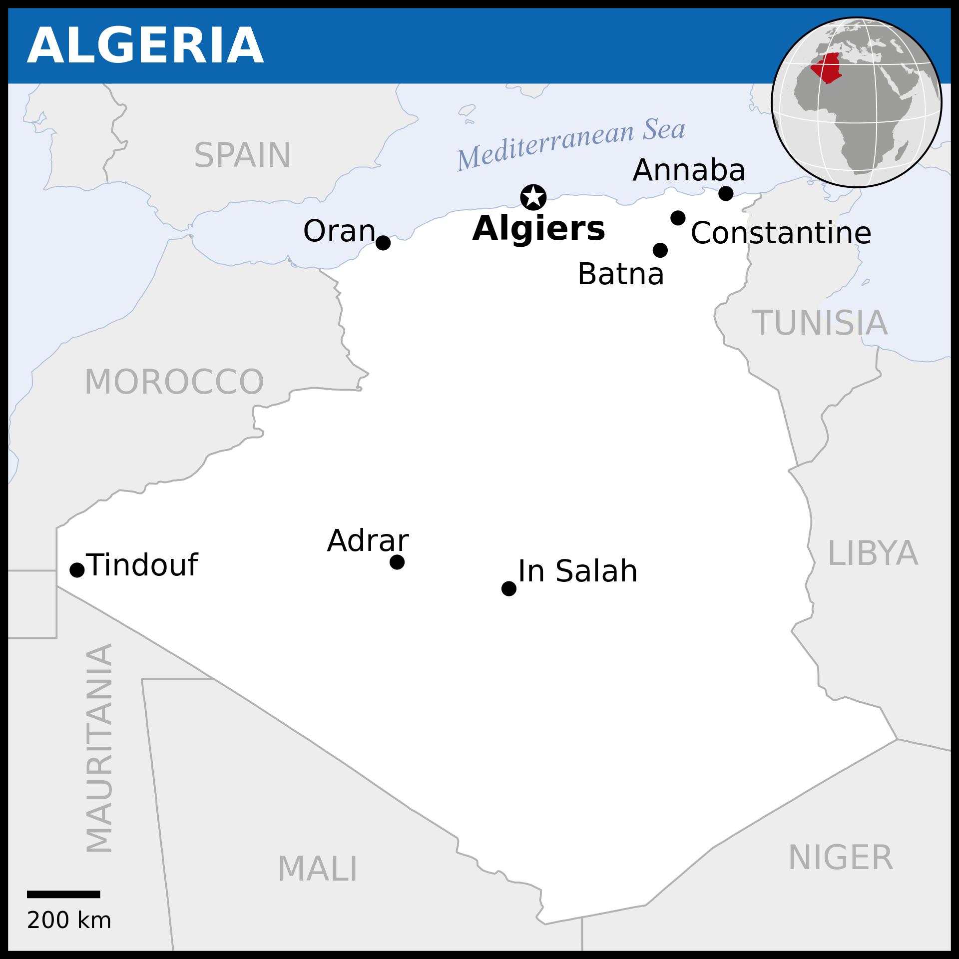 Algeria Wikipedia Civilização, Histórias, Mapa