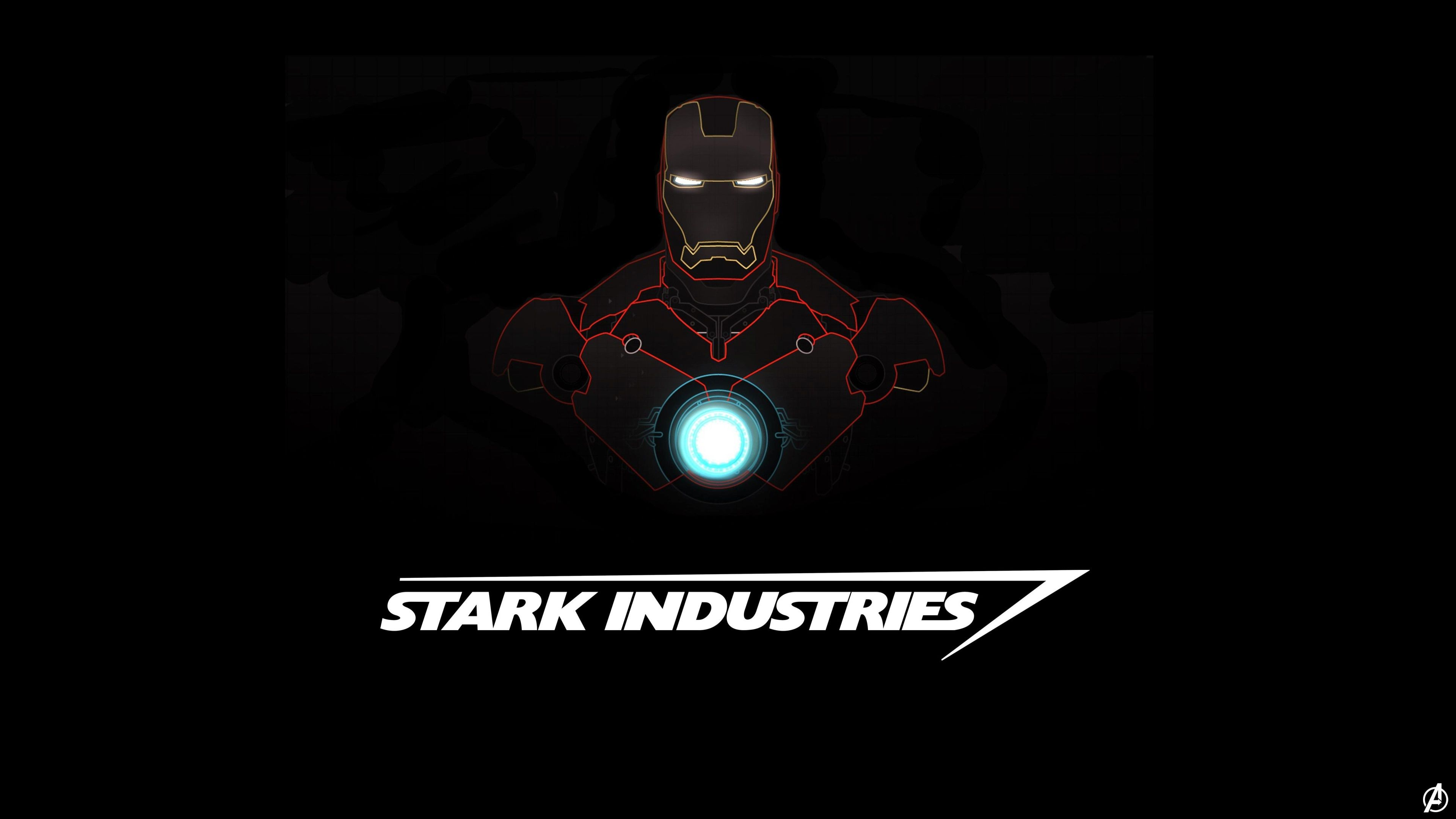 3840x2160 Iron Man 4k Screen Wallpaper Iron Man Hd Wallpaper Iron Man Wallpaper Stark Industries