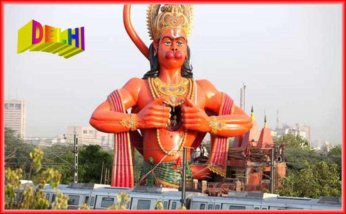108 Feet Height Sky Touch Gigantic Sculpture Of Rambhakt Hanuman