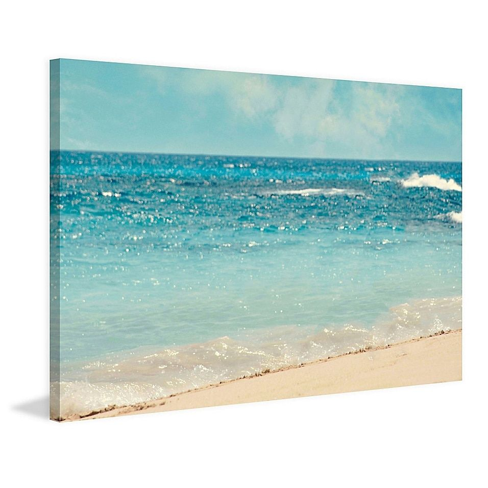 Marmont Hill Dream Big 60 Inch X 40 Inch Canvas Wall Art Bed Bath And Beyond Canada Wall Canvas Beach Wall Art Large Canvas Wall Art