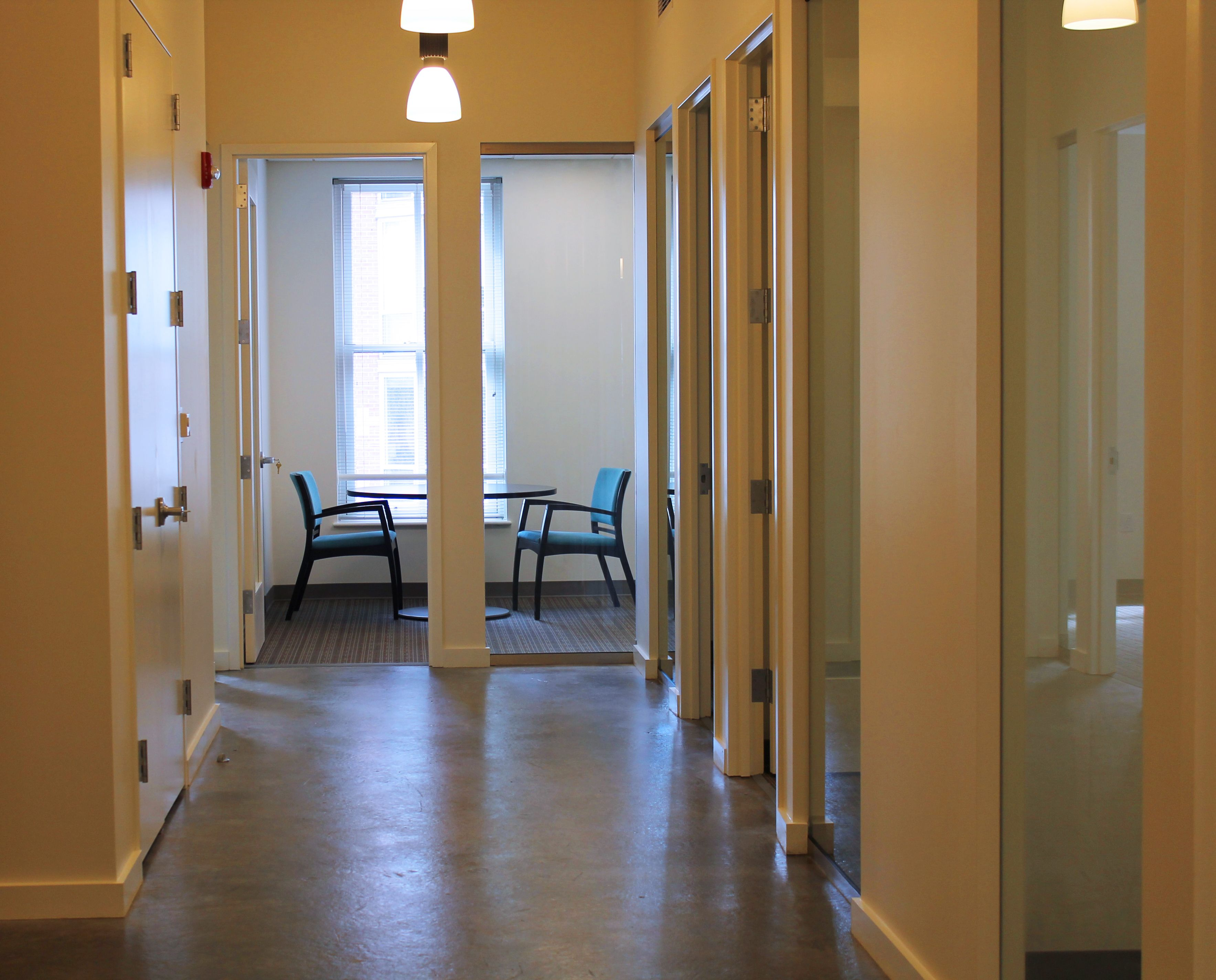 Hallway and Beo :Washington Group Solutions finished Installation at Civitas