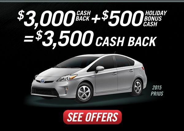 2015 Toyota Prius Two Thanksgiving Cyber Monday Special 3 000