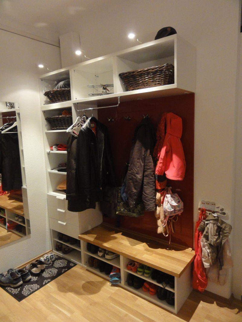 Baublog Hausnummer 17: IKEA Hack: Eine Flur Garderobe selber