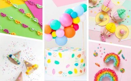 ▷ 1001 + Ideen, die Sie eine kreative Kindergeburtstag Deko basteln