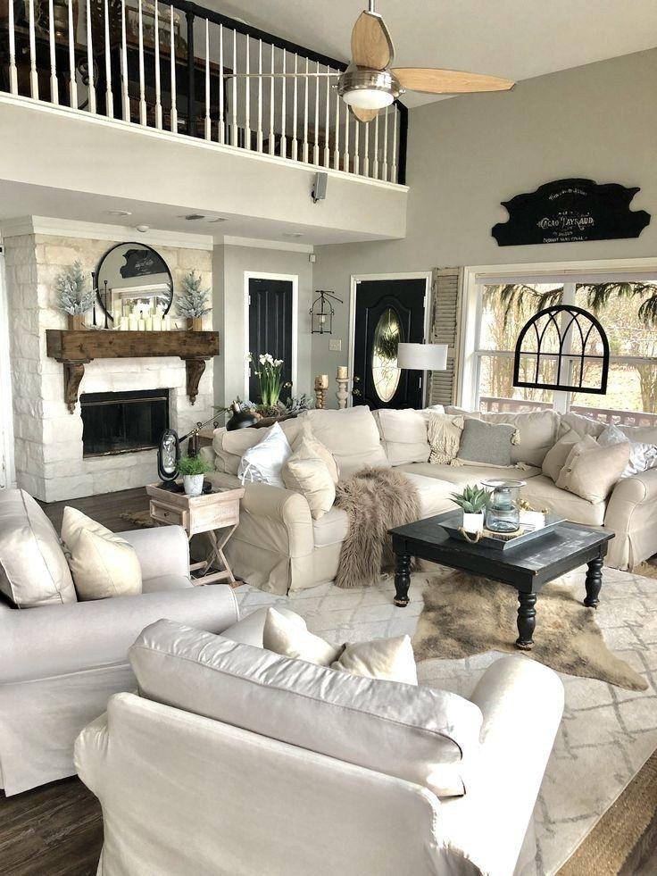 39 incredible farmhouse living room sofa design ideas and decor 4 images