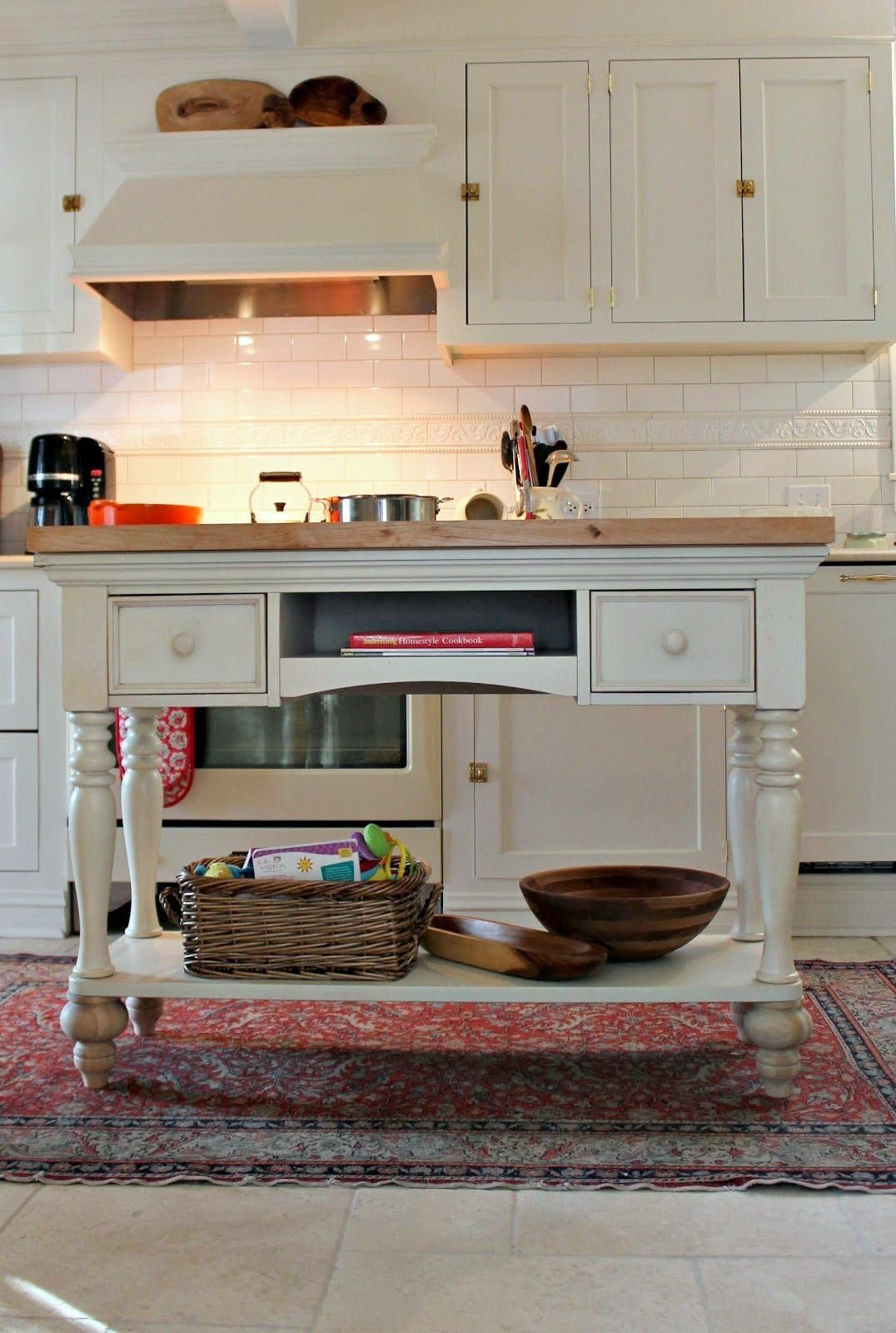 Rise To New Style Heights Adding Feet Legs To Furniture For My Finds Diy Kitchen Island Diy Kitchen Kitchen Design