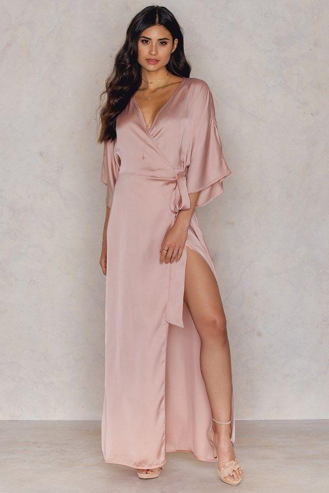 Kimono Mid Sleeve Maxi Dress | Get | Pinterest