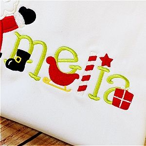 "SantaClausFONT_pa Comes in lowercase letters a-z and in three sizes : 1"", 1.5"", 2"""