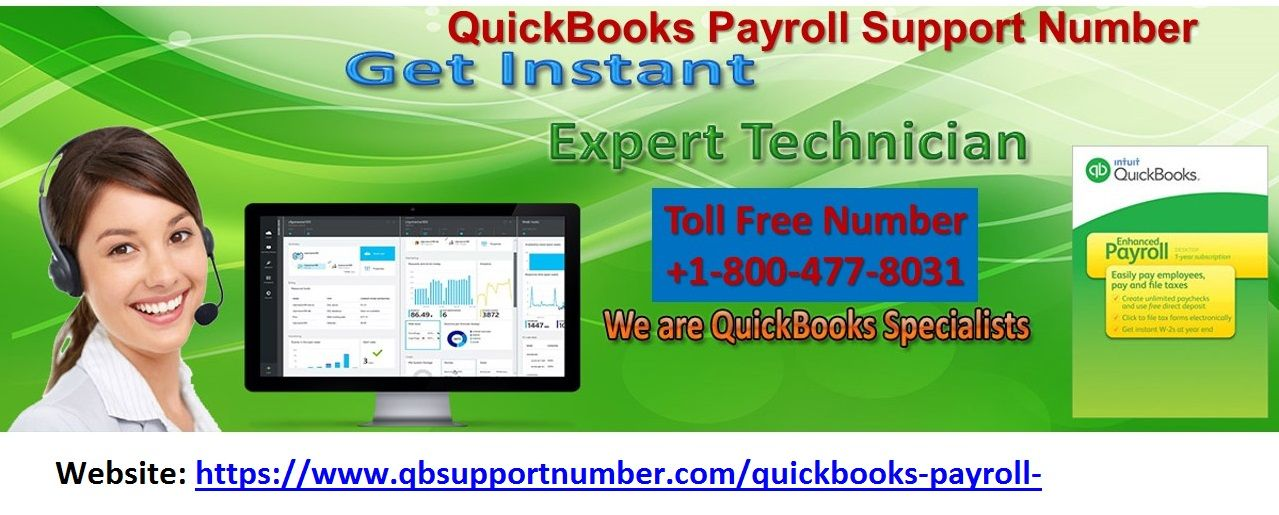 Just dial QuickBooks Payroll Support +1-800-477-8031 Number