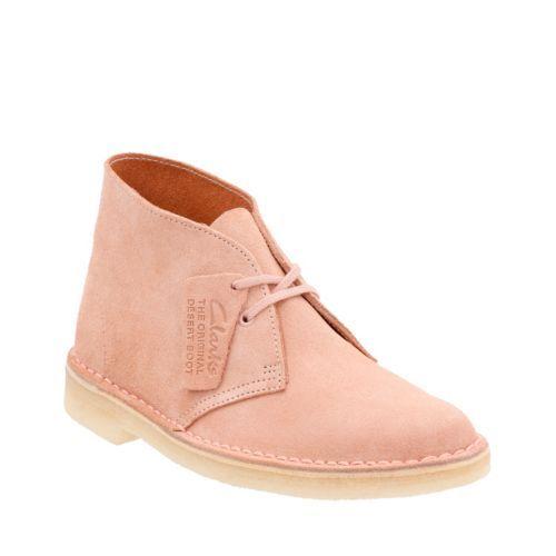 47bfff45c40f14 Women's Desert Boot Dusty Pink Suede - Clarks Originals Womens Desert Boots  - Clarks® Shoes