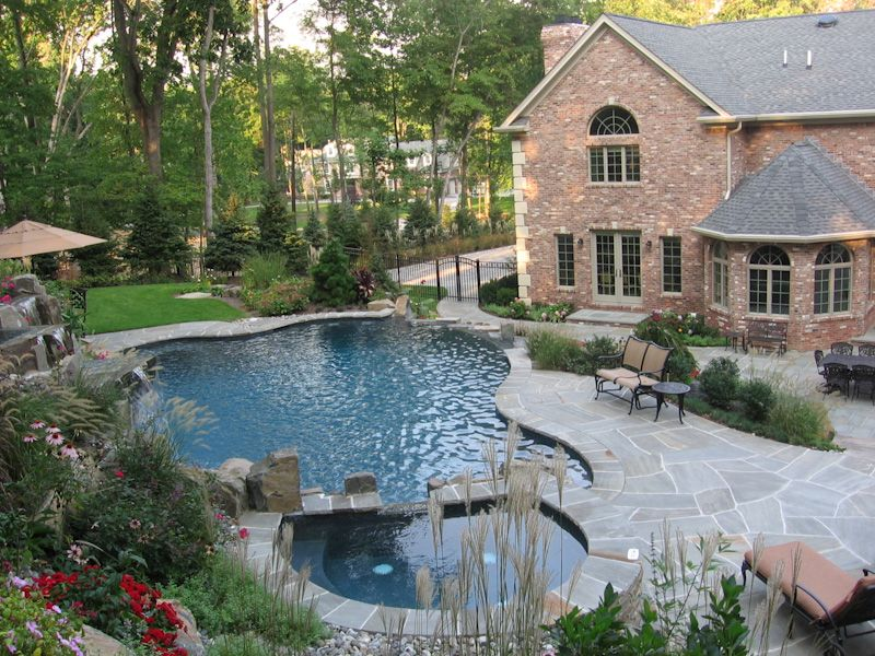 Luxury Home Swimming Pools custom homes with luxury swimming pools and landscapes make the